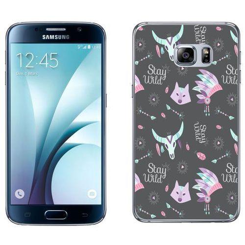 Samsung Galaxy S6 etui na telefon - Kolekcja boho - stay wild - J40