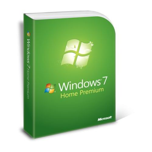 Microsoft Windows 7 home premium, naklejka z kluczem i dvd 64-bit