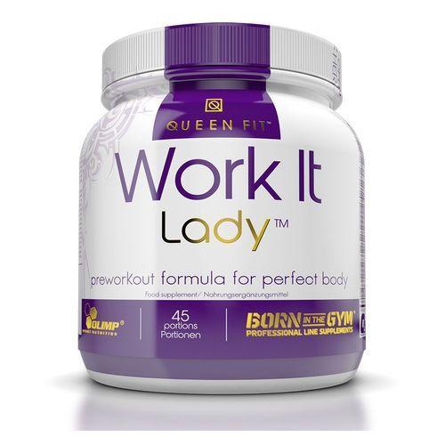 Aminokwasy dla kobiet Work It Lady 337.5g Olimp (Smak: Pomarańcza)