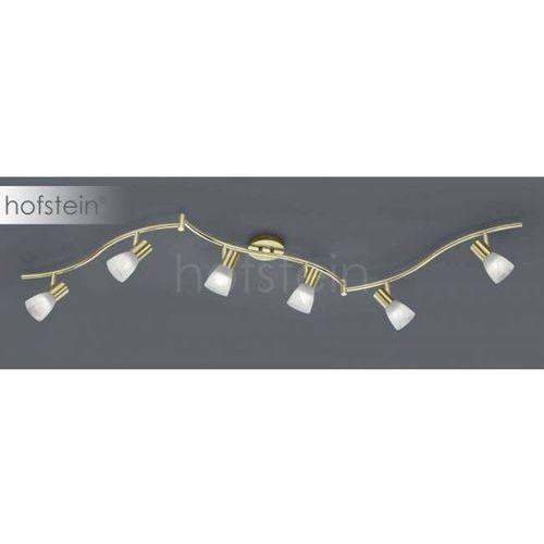 Trio LEVISTO lampy sufitowe listwy LED Mosiądz, 6-punktowe - Nowoczesny - Obszar wewnętrzny - LEVISTO - Czas dostawy: od 2-4 dni roboczych (4017807281743)