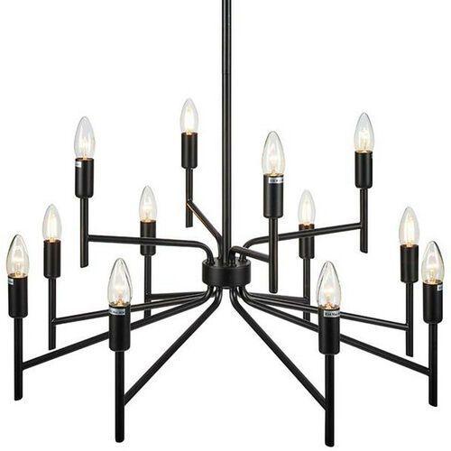 Markslojd regent 108107 lampa wisząca zwis 12x40w e14 czarna (7330024599185)