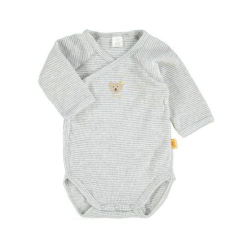 SANETTA Baby Body dziecięce grey melange (4028193715873)