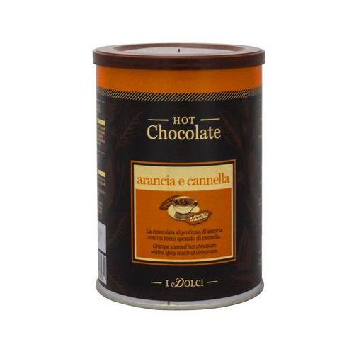 czekolada pomarańcza-cynamon 0,5 kg puszka marki Diemme