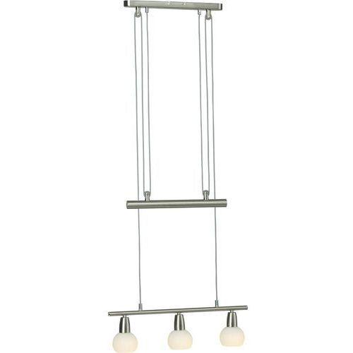 Lampa wisząca 93248/77, e14, żelazowy, chrom, alabastrowy marki Brilliant
