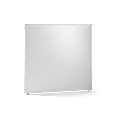 Ścianka działowa, tworzywo, rama jasnoszara, 1300x1300 mm. do indywidualnych sta marki Clipper system srl