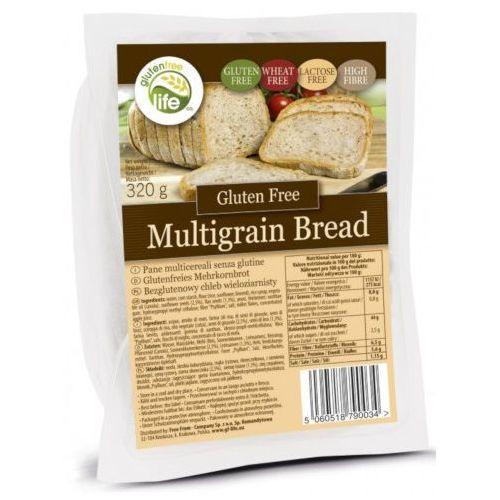 Chleb wieloziarnisty owy 320g, bez laktozy, źródło błonnika marki Bezgluten