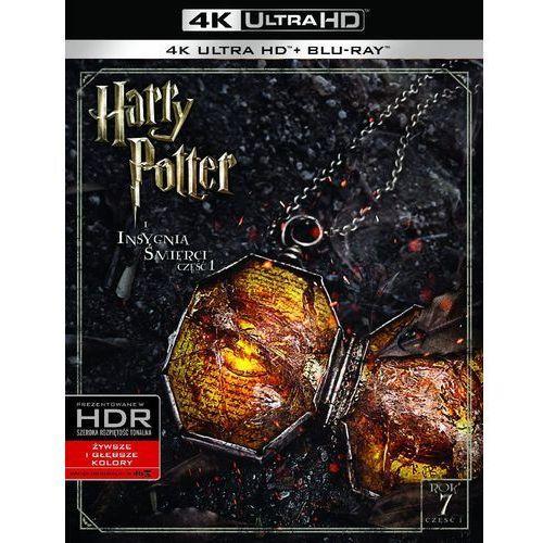 Harry Potter i Insygnia Śmierci. Część 1 (4K Ultra HD) (Blu-ray) - David Yates DARMOWA DOSTAWA KIOSK RUCHU (7321999345778)