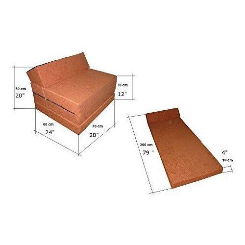 Fotel materac składany 200x70x10 cm - 1009 marki Natalia sp. z o.o.