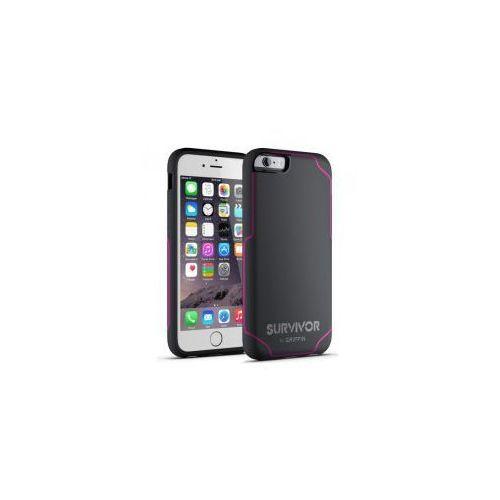 Etui  survivor journey iphone 6 / 6s, szaro-różowe wyprodukowany przez Griffin