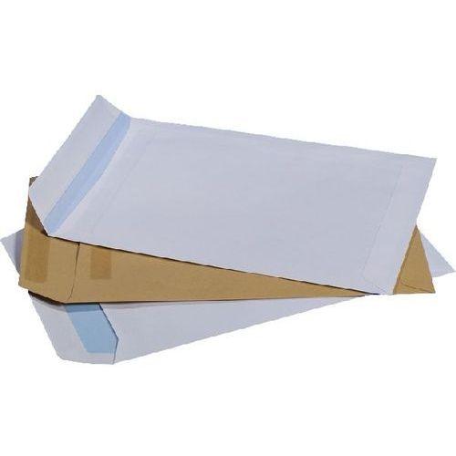 Koperta c-5 okno prawe, lewe, środek 500 szt. biała z paskiem - x03485 marki Nc koperty