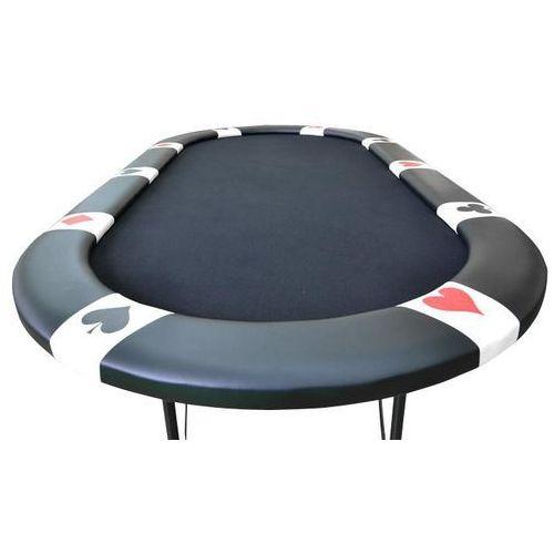 OKAZJA - Stół do pokera black edition dla 10 graczy marki Garthen