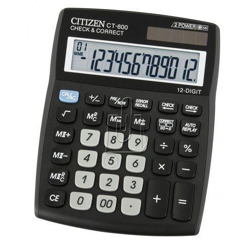 Citizen Kalkulator  ct-600j darmowy odbiór w 19 miastach!