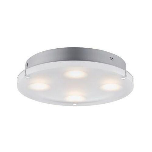Paulmann Lampa łazienkowa, sufitowa led minor 70509, led wbudowany na stałe, 1 x 18 w, 23 cm x 4.2 cm;satin
