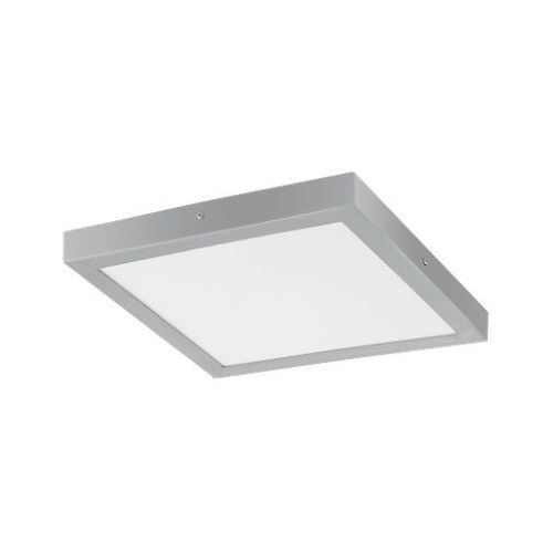 Eglo 97265 - LED Plafon FUEVA 1 1xLED/25W/230V srebrny kanciasty, 97265