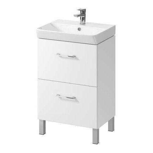 Szafka pod umywalkę Cersanit Olivia Mille 60 cm biała (5901771030010)