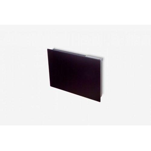 Ozdobny grzejnik panelowy ze sterowaniem elektronicznym Dimplex GFP 200EB - czarna szyba - moc 2000 W + dostawa gratis