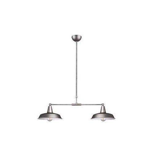 Trio RL Wilton R30422067 lampa wisząca zwis 2x42W E27 nikiel antyczny (4017807442533)