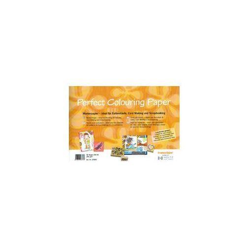 COPIC Perfect Colouring Paper Blok A4 250g/50szt - produkt z kategorii- Pozostałe malarstwo i artykuły plastyczne