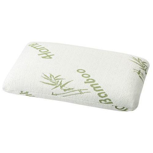 4home  poduszka z pianki z pamięcią bamboo nieprofilowana, 40 x 60 cm, 40 x 60 cm