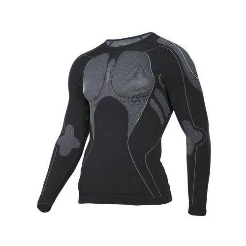 Koszulka termoaktywna 2XL/3XL czarno-szara LAHTI PRO L4120105 długi rękaw