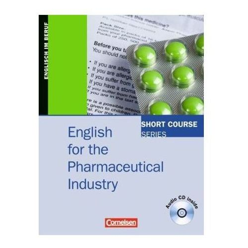 English for the Pharmaceutical Industry, m. Audio-CD