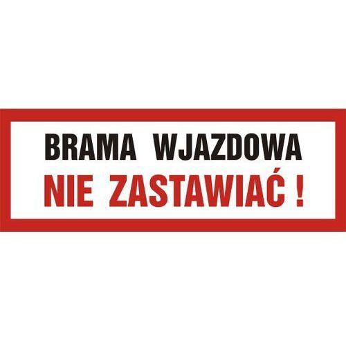 OKAZJA - Brama wjazdowa. nie zastawiać marki Top design