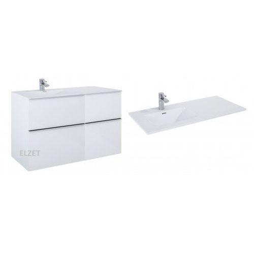 Elita szafka look 2s white + kontener z szufladami + umywalka skappa 100 167077.167728.145935/145945
