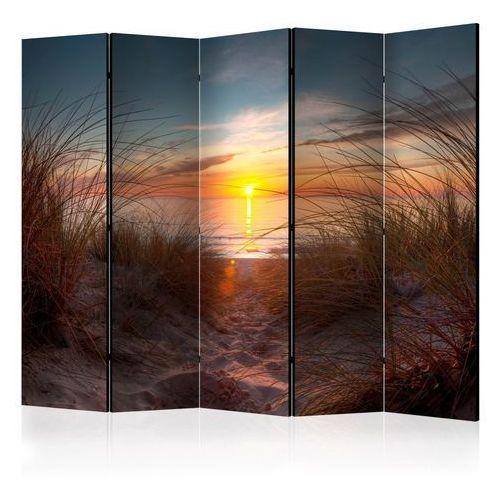 Parawan 5-częściowy - Zachód słońca nad Oceanem Atlantyckim [Room Dividers]