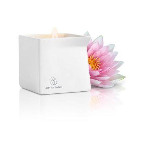 Intrygująca świeca do masażu Jimmyjane Afterglow - Różowy Lotos z kategorii Pozostała erotyka
