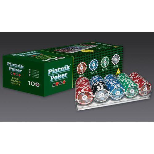 Piatnik zestaw do pokera 100 żetonów - 9001890790591- natychmiastowa wysyłka, ponad 4000 punktów odbioru!