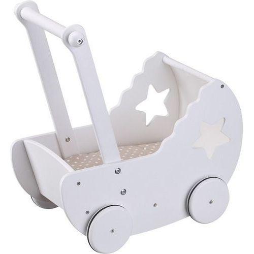 Kids concept Drewniany wózek z gwiazdką kc412605