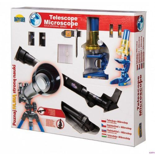 Teleskop + mikroskop Zestaw EDUKACYJNY (5900360008386)