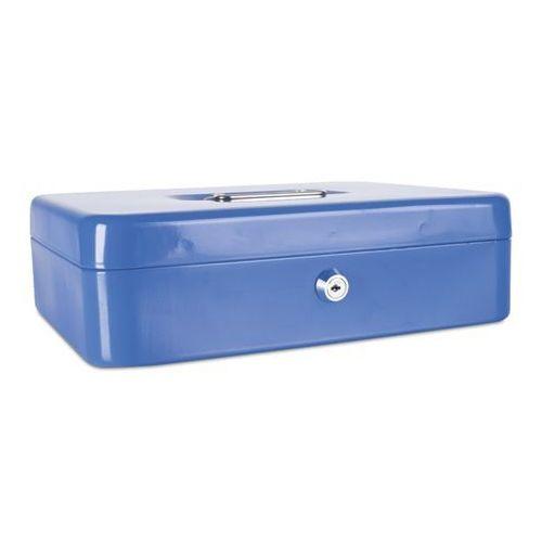 Kasetka na pieniądze DONAU extra duża - niebieska, 5234001PL-10