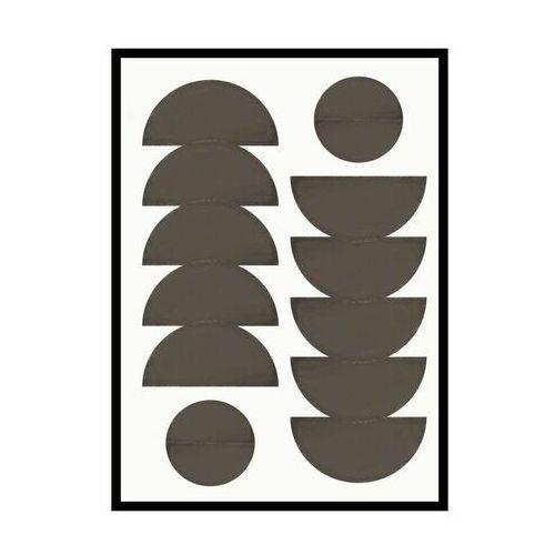 Obraz czarne polkola 70 x 100 cm marki Knor
