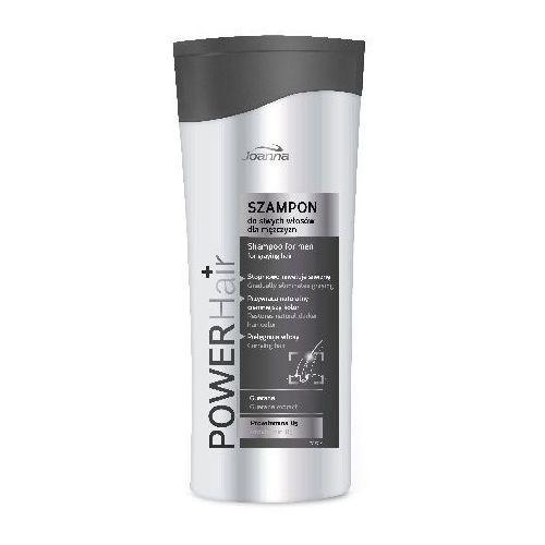 Joanna Power Hair Szampon do siwych włosów dla mężczyzn 200ml