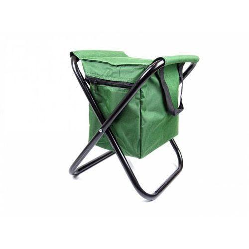 Stołek taboret Krzesło wędkarskie składane z torbą termiczną