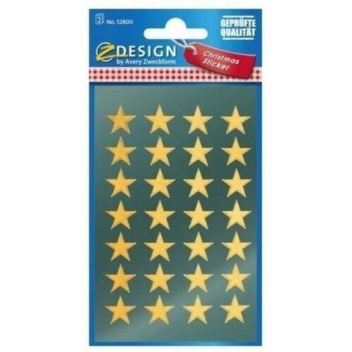 Naklejki - złote gwiazdy (4004182528006)