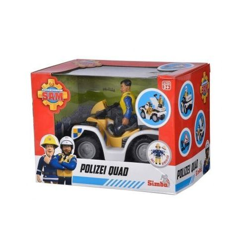 Strażak Sam Quad policyjny z figurką