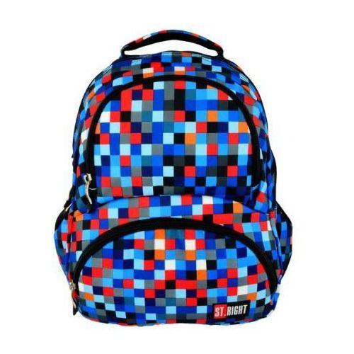 plecak 4-komorowy bp7 pixelmania blue darmowy odbiór w 20 miastach! marki Majewski