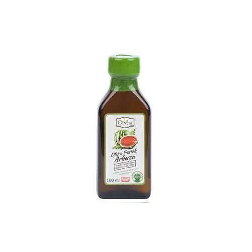 Olej z pestek arbuza tłoczony na zimno nieoczyszczony 100ml - Olvita
