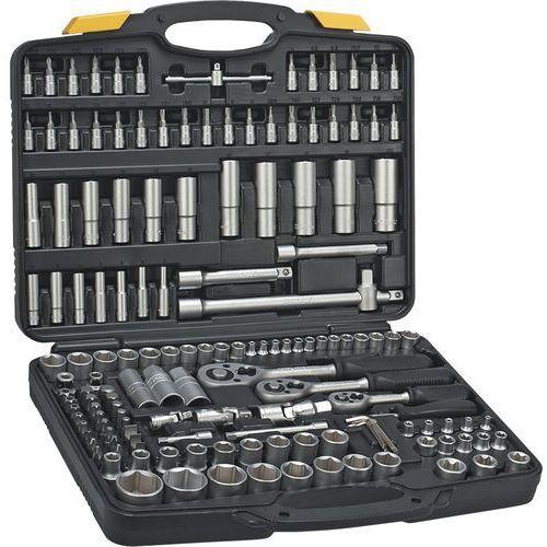 Zestaw kluczy nasadowych 38d687 1/4 3/8 i 1/2 cala (150 elementów) + zamów z dostawą jutro! + darmowy transport! marki Topex
