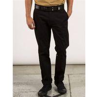 Volcom Spodnie - frickin modern stret black (blk)