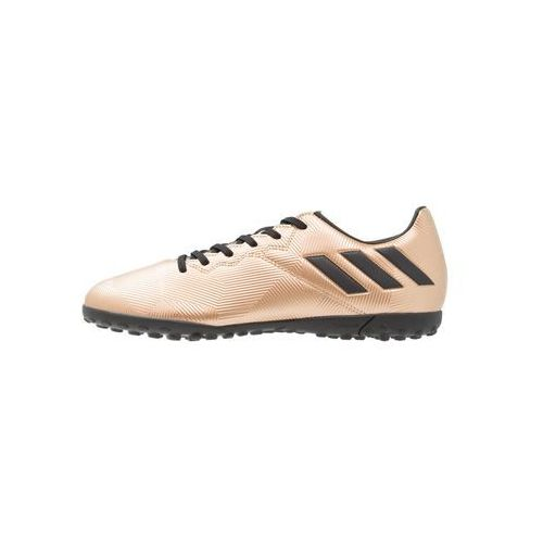 adidas Performance MESSI 16.4 TF Korki Turfy copper metallic/core black/solar green