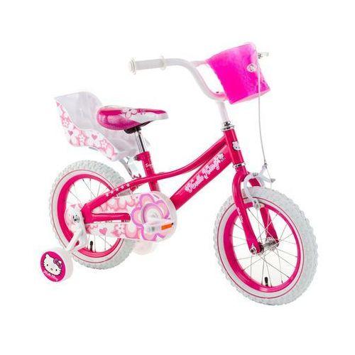 """Rower dziecięcy różowy HELLO KITTY Shinny 14"""""""