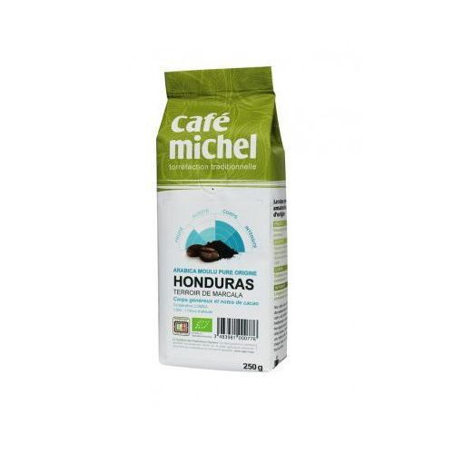 Cafe michel (kawy, kakao, czekolady do picia) Kawa mielona honduras bio 250 g - cafe michel fair trade (3483981000776)