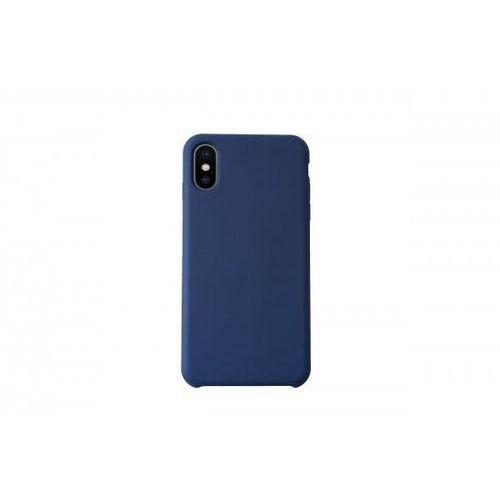 Kmp Silicone case do iphone x granatowe (4057652002186)