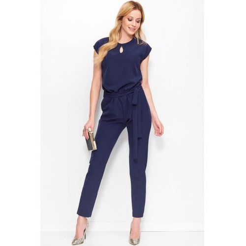 Makadamia Kombinezon damski model m401 navy