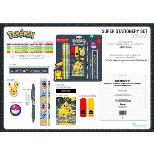 Duży zestaw szkolny pokemon sun & moon marki Blueprint