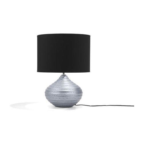 Lampka stołowa srebrna KUBAN (4260586353242)