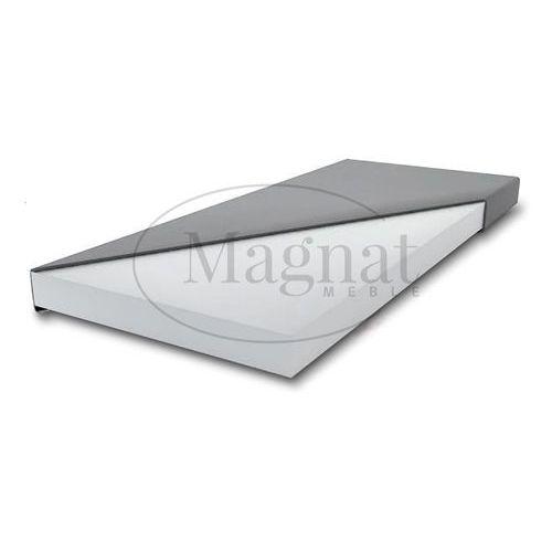 Łóżko drewniane klaudia 140x200 z materacem piankowym marki Magnat - producent mebli drewnianych i materacy. Najniższe ceny, najlepsze promocje w sklepach, opinie.